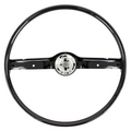 Steering Wheel, 1968 - 69 Mustang (Black) All Classic Parts