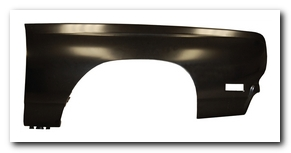 Front Fender, 1969 Road Runner RS AMD