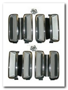 Fender Louver Set, 1971 Plymouth Barracuda  AMD