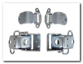 Door Hinge, 1967 - 74 Valiant Set 4 Pieces AMD