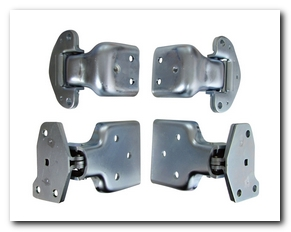 Door Hinge, 1971 - 74 Road Runner Set 4 Pieces AMD