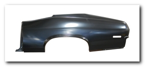 Quarter Panel Skin, 1970 - 72 Nova LS (With Jamb) AMD