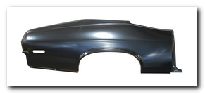 Quarter Panel Skin, 1970 - 72 Nova RS (With Jamb) AMD