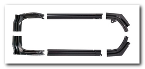 Trunk Gutter Set, 1967 - 69 Dodge Dart  AMD