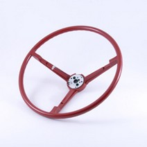 Steering Wheel, 1967 - 69 Barracuda (Red) BEA