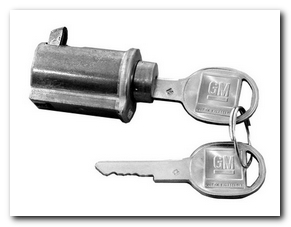 Glovebox Lock, 1965 - 67 Buick Skylark  Classic Auto Locks