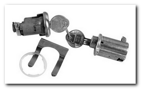 Glovebox And Trunk Lock Set, 1967 Buick Skylark  Classic Auto Locks