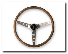 Grant Steering Wheel, 1964 - 73 Mustang (Wood, 15