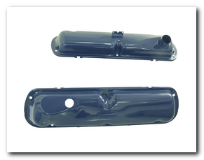 Valve Covers, 1965 - 68 Mustang (Ford Blue, Fits 260 - 289 - 302 - 352) Scott Drake