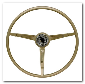 Steering Wheel, 1968 - 69 Mustang (Ivy Gold) Scott Drake