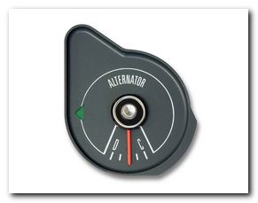 Amperage Gauge, 1970 Mustang (Gray) Scott Drake