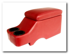 Hump Hugger Console, 1964 - 73 Mustang (Dark Red) Scott Drake
