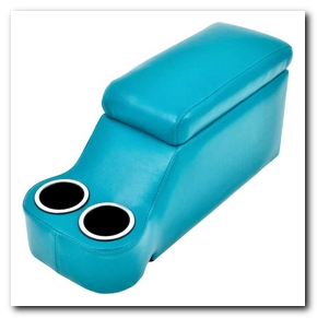 Hump Hugger Console, 1964 - 73 Mustang (Turquoise) Scott Drake