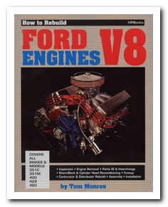 Book, 1967 - 73 Cougar (351M, 400, 429 And 460 How To Rebuild Your Ford 8 Cylinder) Scott Drake