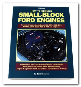 Book, 1967 - 73 Cougar (How To Rebuild Your Small Block Ford Engine) Scott Drake