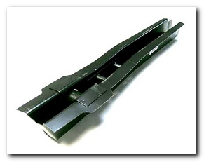 "Rear Frame Rail, 1964 - 70 Mustang Patch (4""W X 5""H X 29 - 1/2""L, Left Hand) Scott Drake"