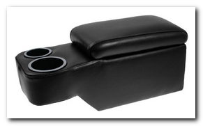 Saddle Console, 1964 - 67 Mustang (Black) Scott Drake