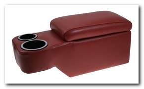Saddle Console, 1966 - 67 Mustang (Dark Red) Scott Drake