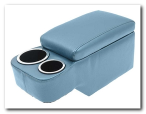 Saddle Console, 1966 - 67 Mustang (Light Blue) Scott Drake