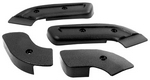 Seat Hinge Cover Set, 1968 - 70 Cougar 4 Pieces Dynacorn