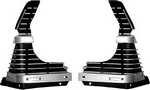 Grille, 1969 Extensions Outer Chevelle Dynacorn