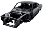 Body Shell, 1967 Mustang Fastback  Dynacorn