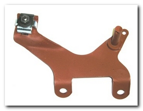 Throttle Cable Bracket, 1968 - 70 Barracuda Small Block 4 Barrel Hoffman's Winners Circle