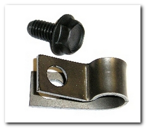 Parking Brake Cable Clip And Bolt, 1970 - 74 Challenger  Hoffman's Winners Circle