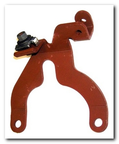 Throttle Cable Bracket, 1972 - 73 Plymouth Valiant (340 4 Barrel) Hoffmans Winners Circle
