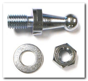 Bell Crank Ball Stud, 1966 - 74 Barracuda Clutch (Frame Side) Hoffman's Winners Circle