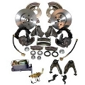 Manual Disc Brake Kit, 1964 - 69 Barracuda  Master Power Brakes