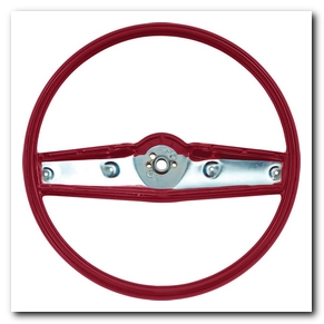 Steering Wheel, 1969 - 70 Nova Red OER
