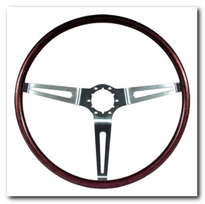 Steering Wheel Simulated Rosewood, 1969 - 70 Nova  OER