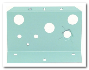 Console, 1968 - 69 Camaro Gauge Mounting Plate Fuel  OER