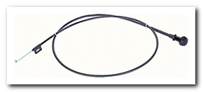 Air Flow Control Cable, 1969 - 72 GTO Without A/C OER