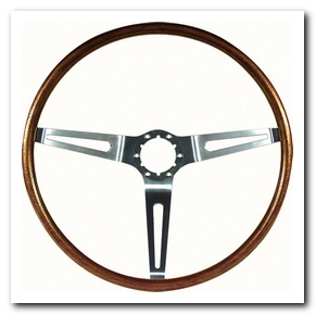 Steering Wheel Simulated Walnut Wood, 1967 - 68 Nova  OER