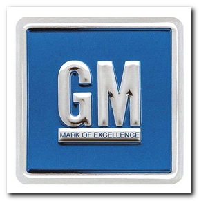 Decal, 1968 - 70 Chevelle GM Blue OER