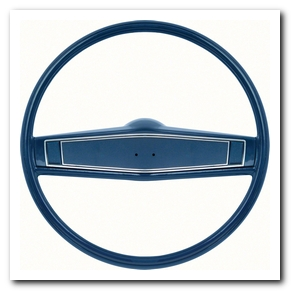 Steering Wheel Kit, 1969 - 70 Nova Dark Blue With Blue Shroud OER
