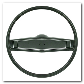 Steering Wheel Kit, 1969 - 70 Nova Dark Green With Green Shroud OER