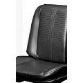 Bucket Seat Cover Set, 1966 Lemans Black PUI