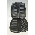 Bucket Seat Cover Set, 1967 GTX Black PUI