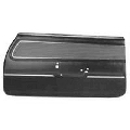 Door Panel Set, 1971 - 72 Cutlass Black Preassembled Supreme Model PUI