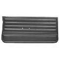 Door Panel Set, 1965 El Camino Black PUI