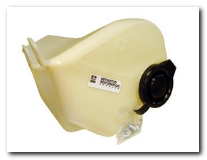 Windshield Washer Reservoir, 1971 Road Runner (Electric Yellow Rounded Corner) Quirey Quality