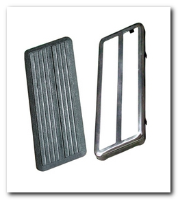 Accelerator Pedal, 1971 - 72 Valiant (With Stainless Trim) Quirey Quality