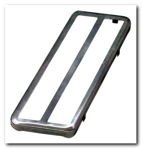 Accelerator Pedal, 1971 - 72 Valiant (Polished Stainless) Quirey Quality