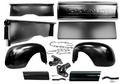 Bed Assembly, 1947 - 53 Chevrolet Truck (6' Stepside) Restoration Parts Source