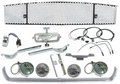 Grille Kit, 1965 Mustang (Gt With Fog Lghts) Restoration Parts Source