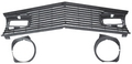 Grille Kit, 1970 Mustang (Gt With Fog Lghts) Restoration Parts Source