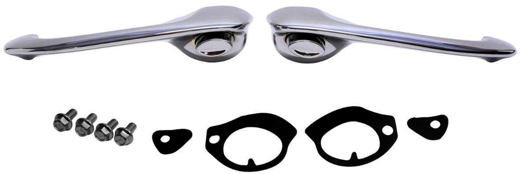 Outside Door Handles, 1956 - 57 210 (Front Or Rear 4 Door Hardtop) TrimParts